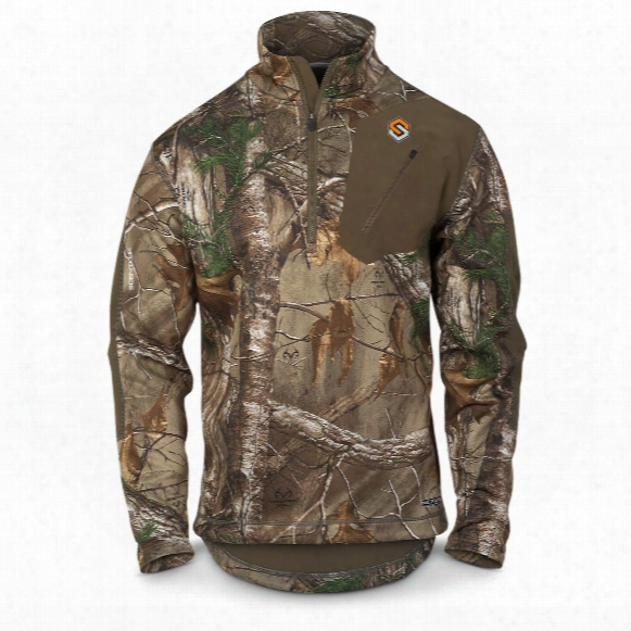 Scentlok Men's Nexus Summit Weight Quarter-zip Pullover