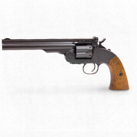 "Schofield #3 Vintage Co2 Bb Revolver, .177 Caliber, 7"" Barrel, 6 Rounds"