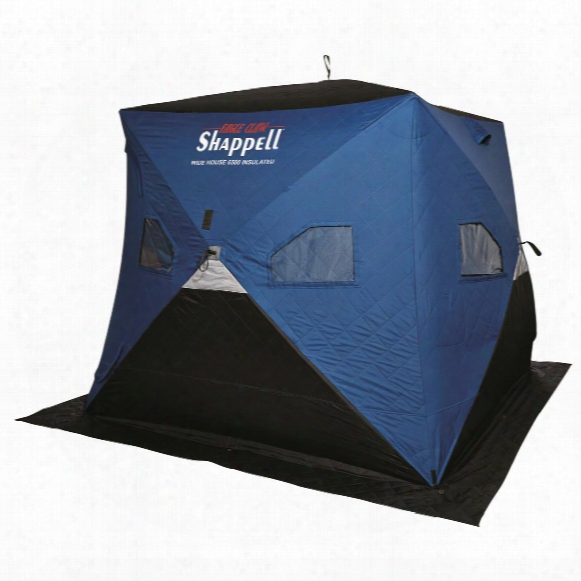 Shappell Wide House 6500 Insulated Ice Fishing Shelter