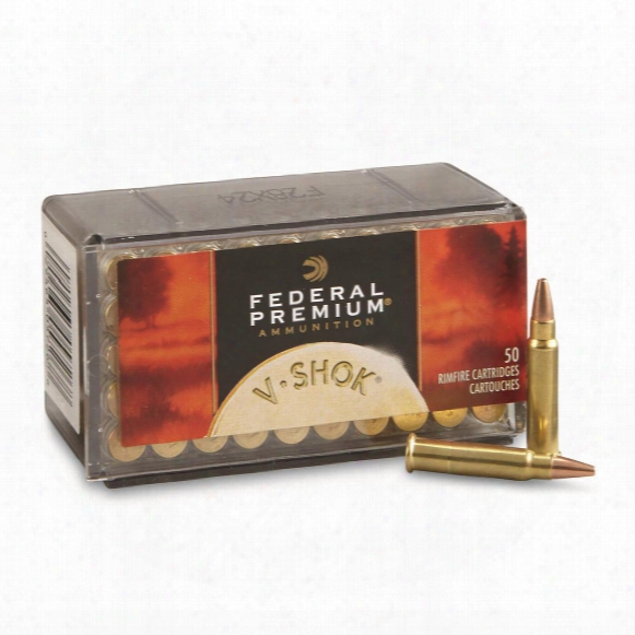 Speer V Shok, .17 Hmr, Tnt Hp, 17 Grain, 50 Rounds
