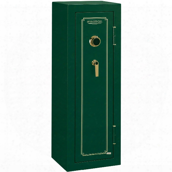 Stack-on Fs-series 8 Gun Safe, Combination Lock, Matte Green