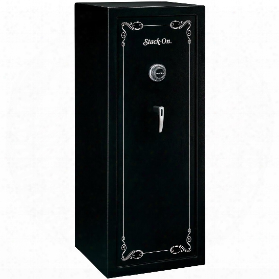 Stack-on Ss-series 16 Gun Safe, Combination Lock, Matte Black