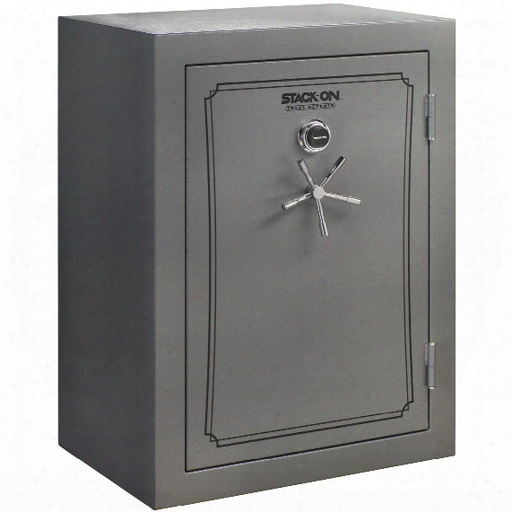 Stack-on Total Defense 51-69 Gun Safe, Combination Lock, Grey Pebble