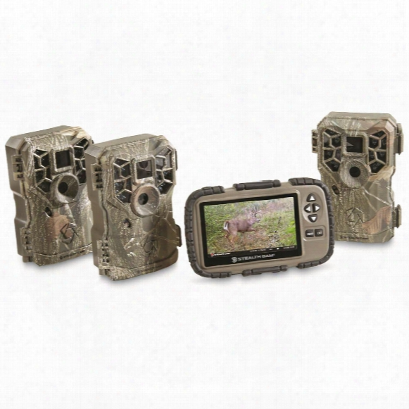 Stealth Cam Px14 Trail/game Camera Property Management Kit