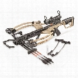 Bear Archery Fisix FFL Crossbow, 135-lb. Draw Weight, Trophy Ridge SpeedComp Scope, Sand