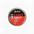 JSB Match Diabolo Exact King Domed Airgun Pellets, .25/9mm Caliber, 350/100 Count