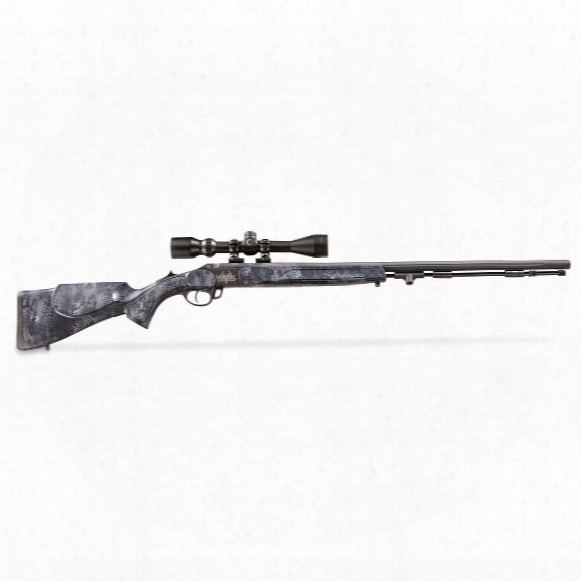 Traditions Vortek Strikerfire Nitride Coated .50 Caliber Muzzleloader With Scope Kit