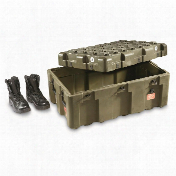 U.s. Military Surplus Hardigg Waterproof Shipping Container, Like New