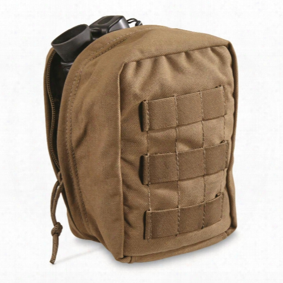 U.s. Military Surplus Tactical Tailor Mnvd Padded Molle Case, New