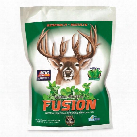 Whitetail Institute Imperial Whtietail Fusion Food Plot Seed, 3.15-lb. Bag