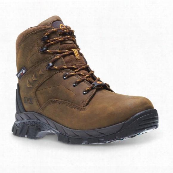"Wolverine Men's Glacier Ice Waterproof 6"" Insulated Composite Toe Work Boots, 400 Gram"