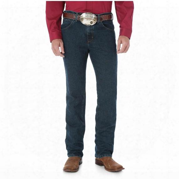 Wrangler Men's Premium Performance Advanced Comfort Cowboy Cut Slim Fit Jeans