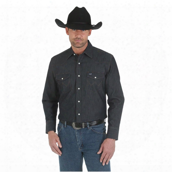 Wrangler Men's Premium Performance Advanced Comfort Shirt