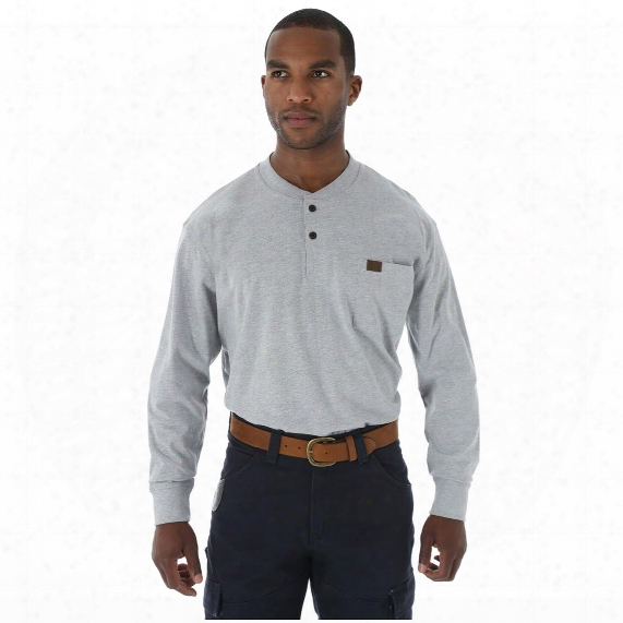 Wrangler Riggs Workwear Men's Long Sleeve Henley
