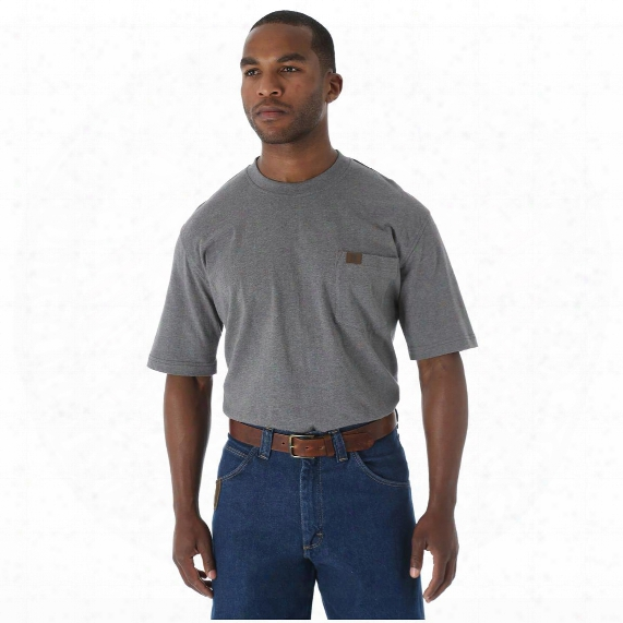 Wrangler Riggs Workwear Men's Pocket Short Sleeve T-shirt