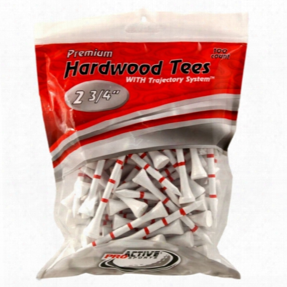 "2 3/4"" Trajectory System Tees - 100 Pack"