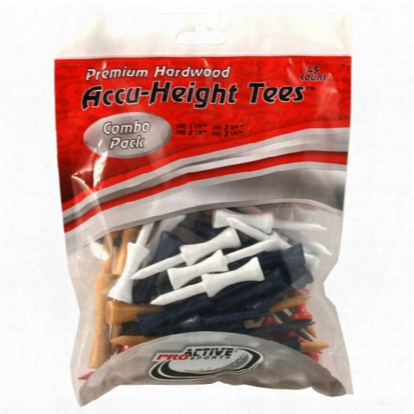 Accu-height Combo Tees - 45 Pack