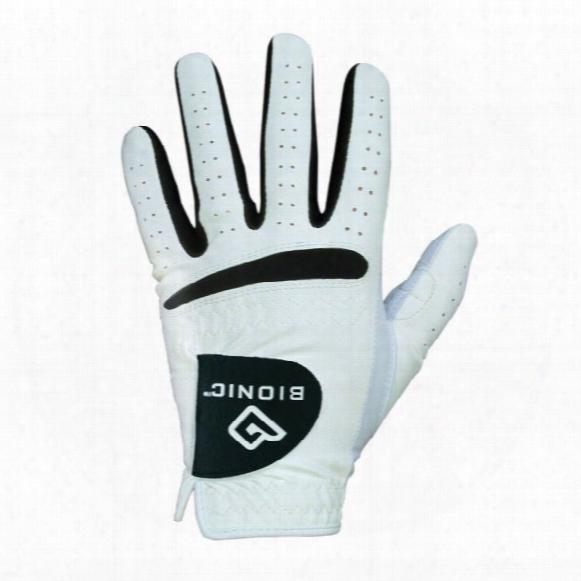 Bionic Men?s Relaxgrip Black Palm Golf Glove