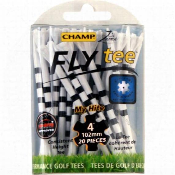 """Champ Flytee Myhite 4"""" Tees - 20 Pack"""
