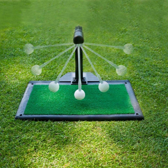 Club Champ Indoor/outdoor Swing Groover Practice System