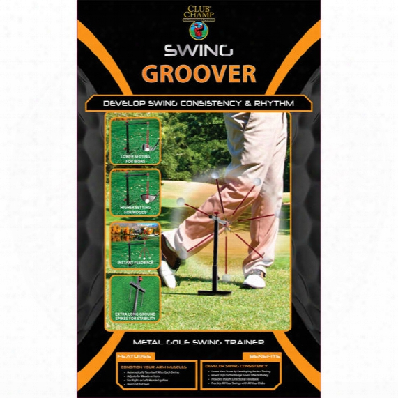 Club Champ Outdoor Swing Groover Practice System