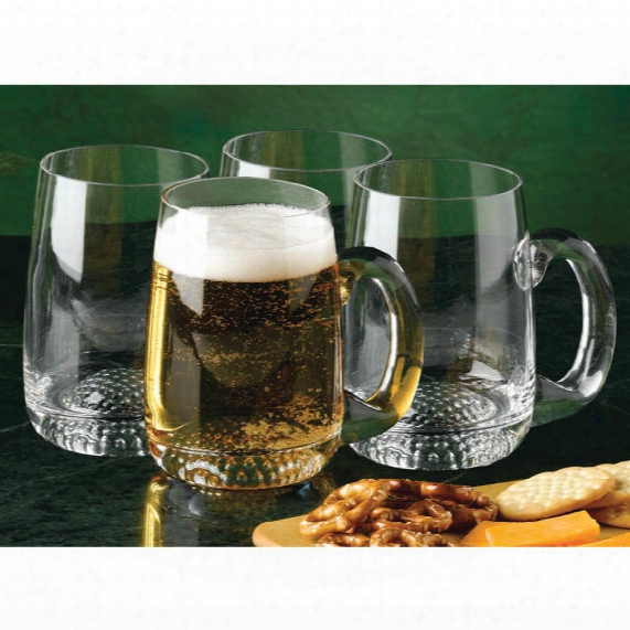 Clubhouse Collection Golf Beer Mugs - Set Of 4