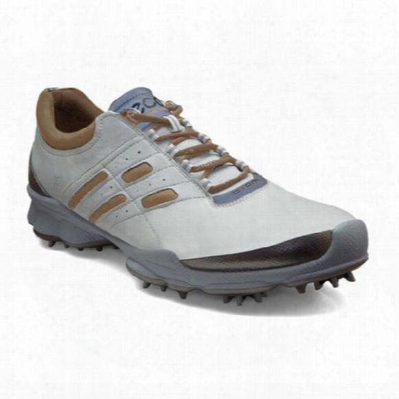 Ecco Men's Biom Golf Lace - White/mineral