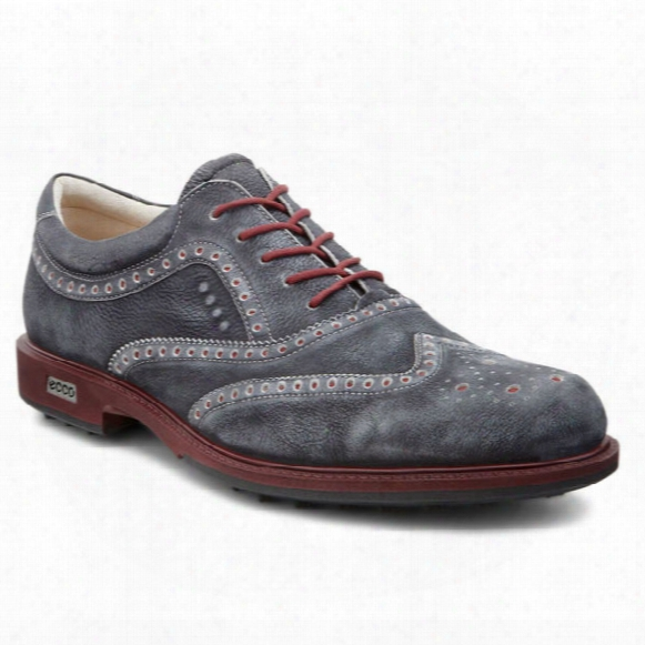 Ecco Men's Tour Hybrid Wingtip - Black Port