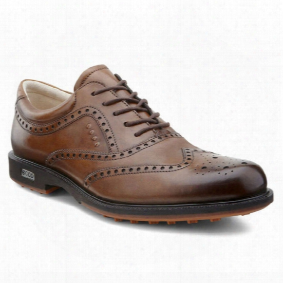 Ecco Men's Tour Hybrid Wingtip - Walnut