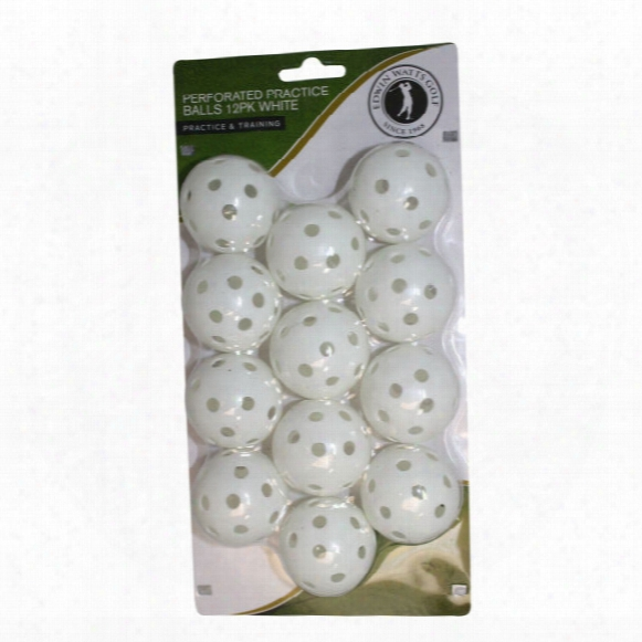 Edwin Watts Perforated Practice Balls Training Aids