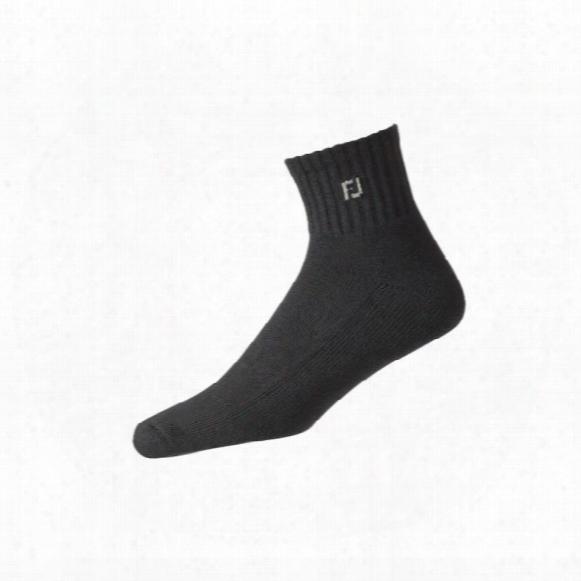 Fj Men's Comfortsof Quarter Socks