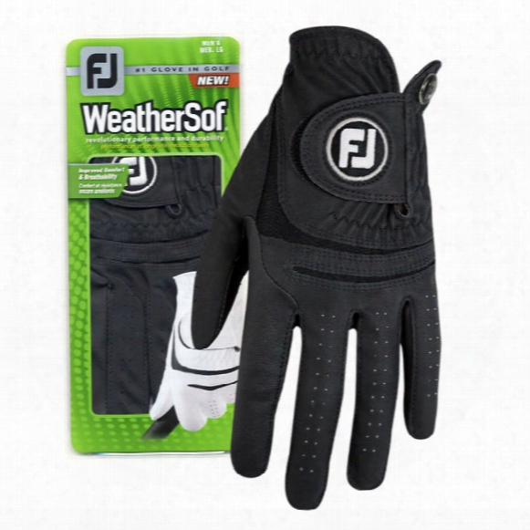 Fj Men's Weathersof Glove