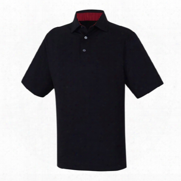 Fj Prodry Solid Lisle Men's Polo Shirt