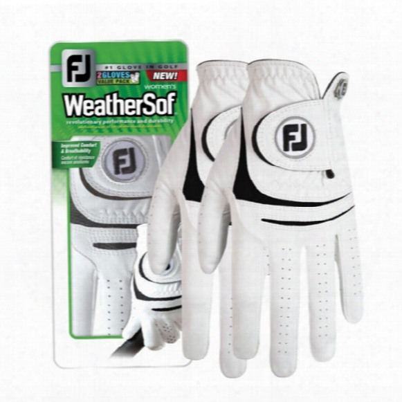 Fj Weathersof 2pk Ladies Gloves
