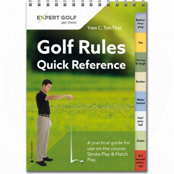 Golf Rules Quick Reference Guide