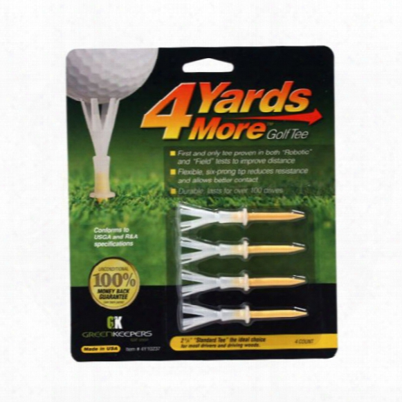 "Greenkeepers 4 Yards More 2 3/4"" Tees"