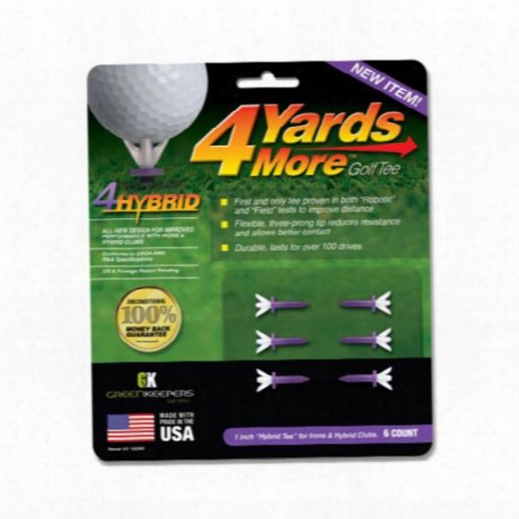 Greenkeepers 4 Yards More 4hybrid Tees