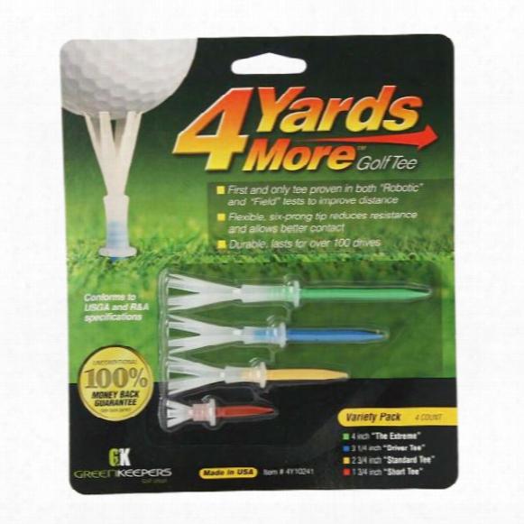 Greenkeepers 4 Yards More Combo Pack Tees