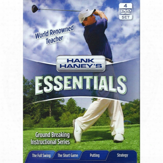 Hank Haneys Essentials 4pk Dvd