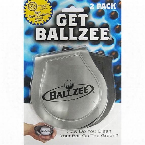Jef World Of Golf Get Ballze-ball Washer