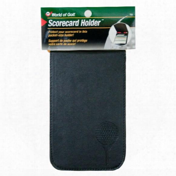 Jef World Of Golf Pocket Scorecard Holder