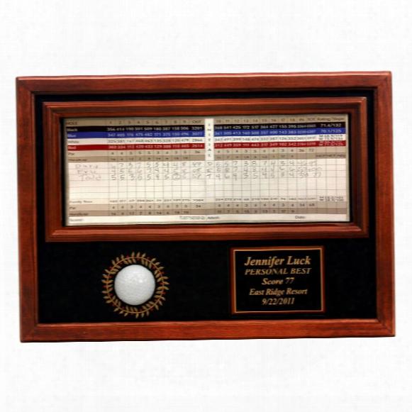 Memorable Moments Ball & Scorecard Display