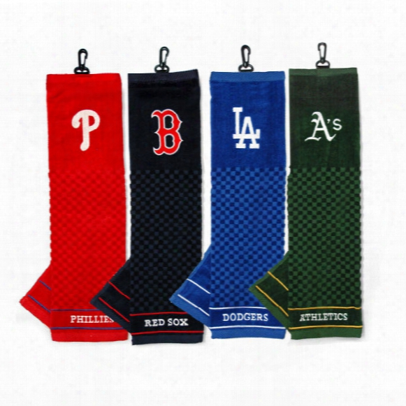 Mlb Embroidered Scrubber Towel