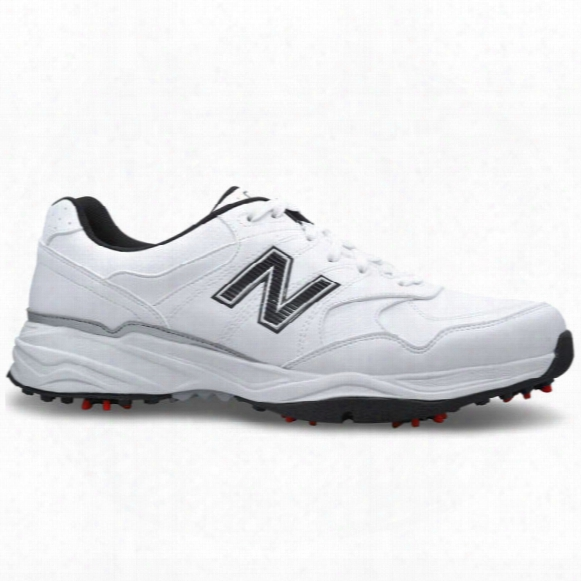 New Balance Golf 1701 Shoes - White/black