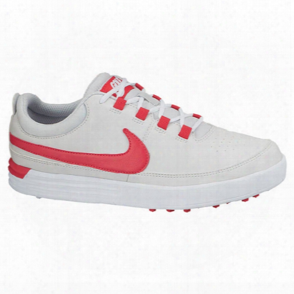 Nike Junior Vt Shoes - Platinum/red