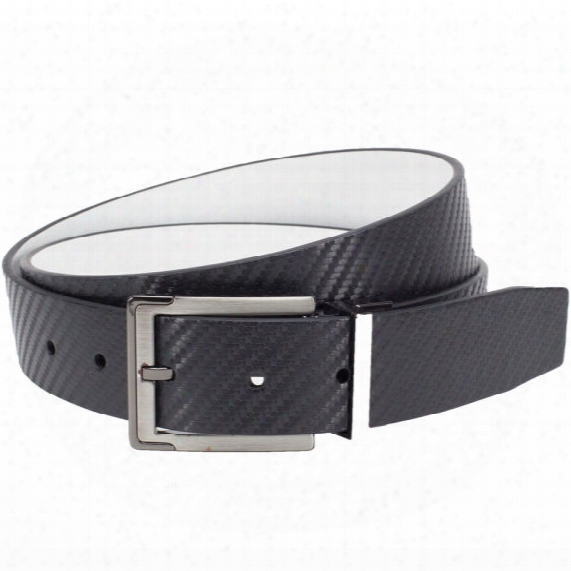 Nike Men's Carbon Fiber Textured Reversible Belt