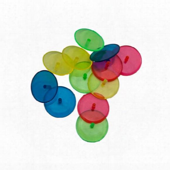 Oversized Quaarter Marks Ball Markers 12/pkg