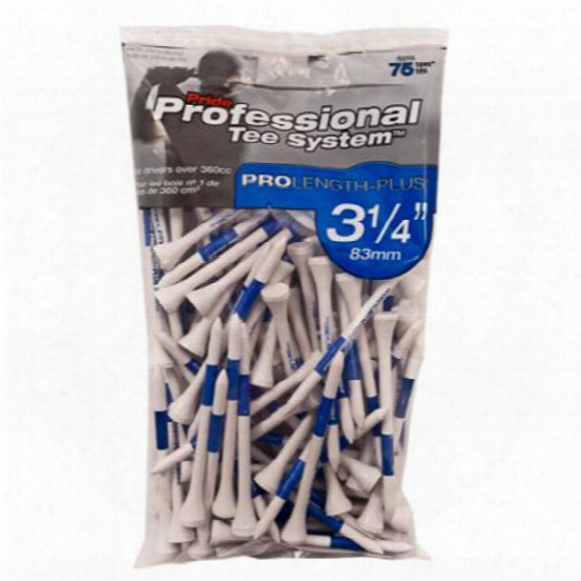 "Pride 3 1/4"" Pts Pro Length Plus Tees"
