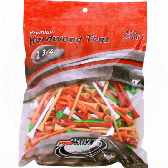 """Proactive Sports 2 3/4"""" Tees - 250 Pack"""