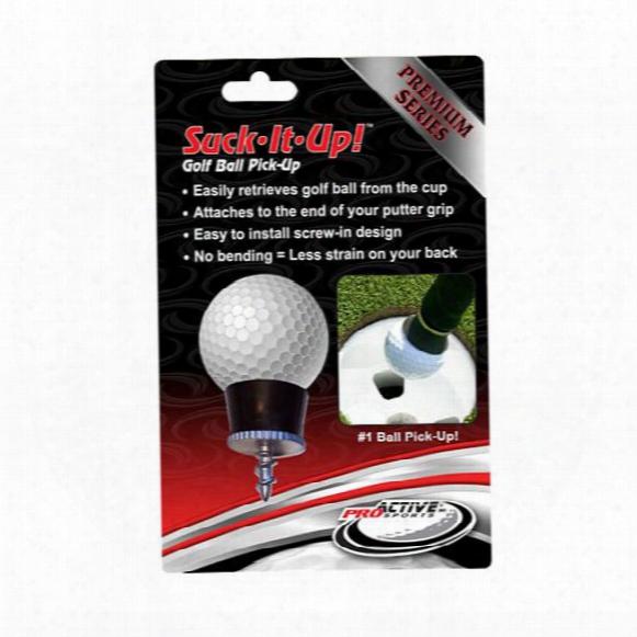 Suck It Up Golf Ball Pickup